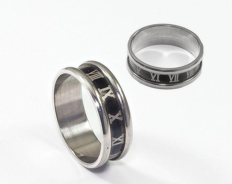 Prsten z chirurgické oceli Kroužek model 2020203