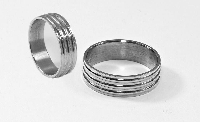 Prsten z chirurgické oceli Kroužek 2020011
