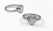 Dámský prsten Srdíčko 2