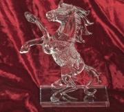 Skleněná dekorace Kůň no. 03