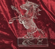 Skleněná dekorace Kůň no.02
