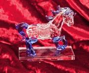 Skleněná figurka Kůň 04