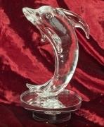 Skleněná dekorace Delfín