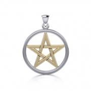 2. Stříbrný přívěsek Pentagram TPV089