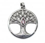 Přívěsek Strom života s Granátem