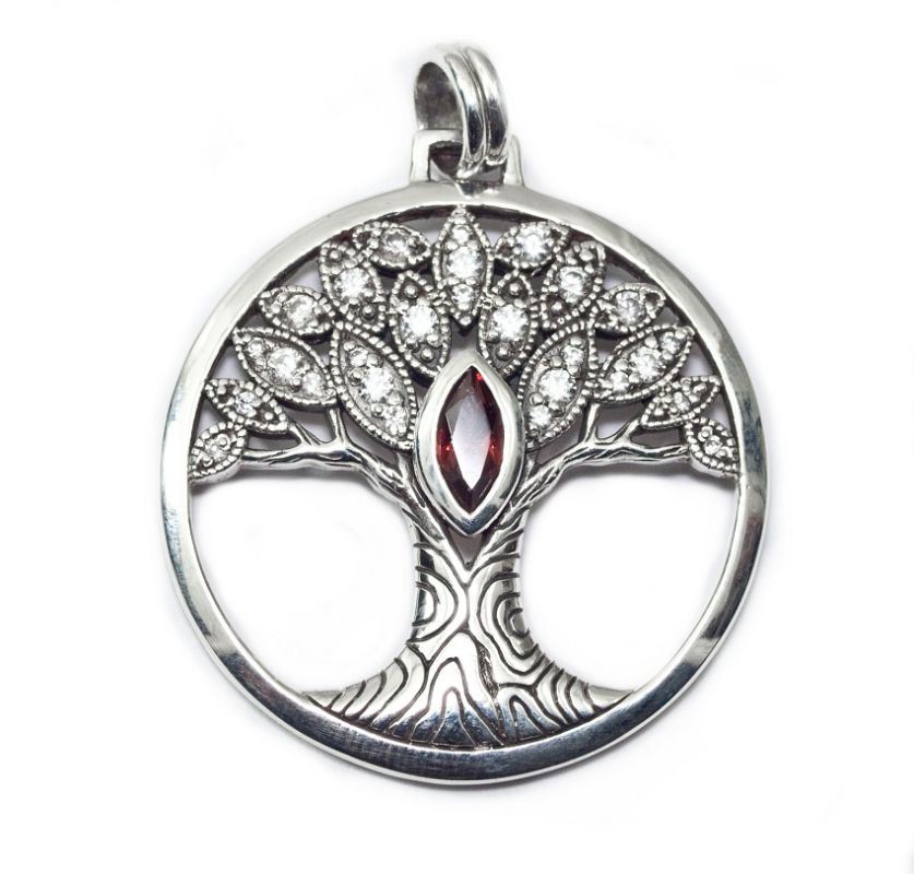 Stříbrný přívěsek Strom života  TPD3873