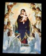 3D obraz Panna Maria s ježíškem