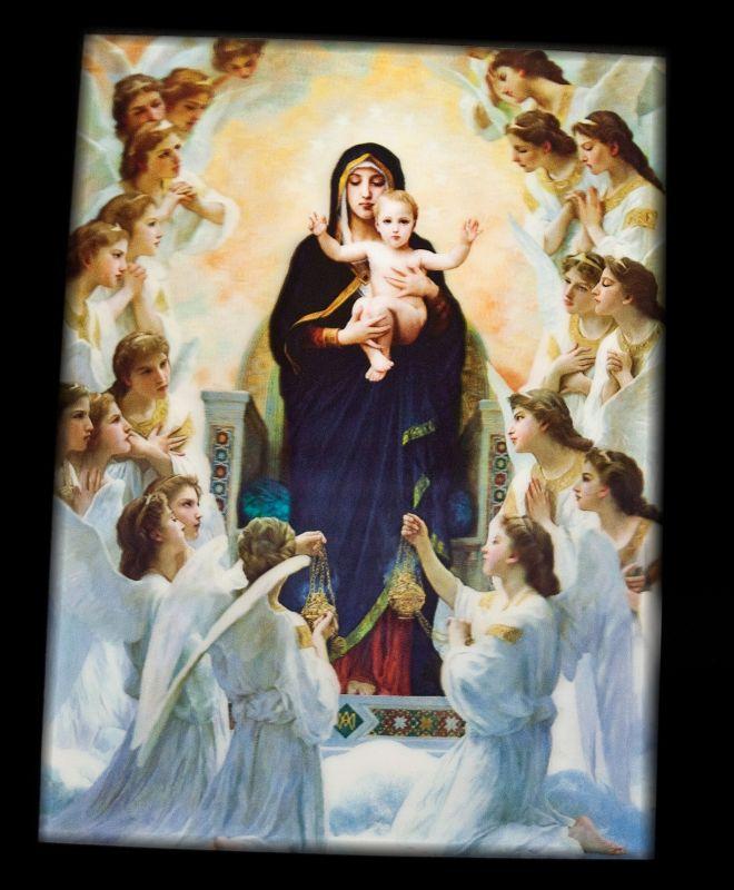 1. Obraz s 3D efektem Panna Marie s Ježíškem