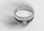4,.1.Dámský prsten, chirurgická ocel, model Amazonie