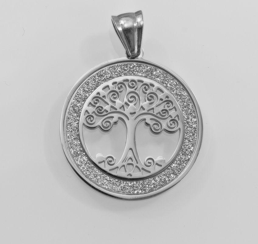 1. Dámský přívěsek z chirurgické oceli Strom života no. riv022aa