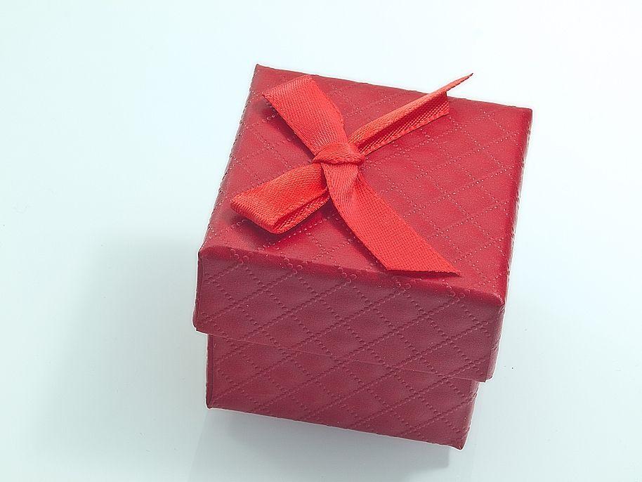 Krabička na šperky Červená