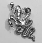 Přívěsek Trojhlavá Kobra