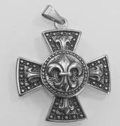 Přívěsek z chirurgické oceli Keltský kříž