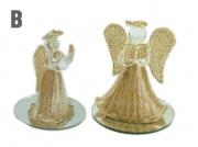 2. Skleněná figurka Andělíček, varianta B