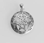 Přívěsek Dvojitý Pentagram