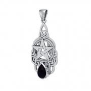 rafický návrh šperku pro výrobu, Pentagram s Onyxem