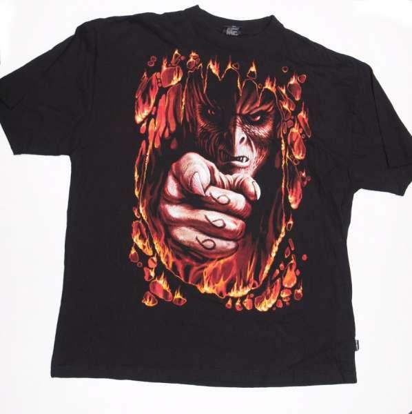 Tričko 666,krátký rukáv