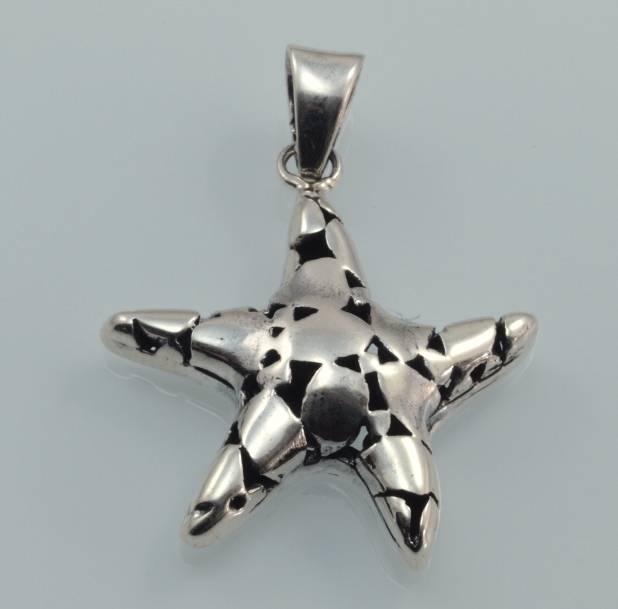 přívěsek stříbro Hvězdice
