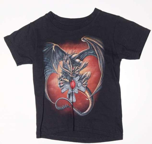 Dětské tričko s motorkářským motivem. DRAK HUGGO . HERO BUFF