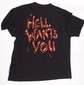 Zadní strana trička