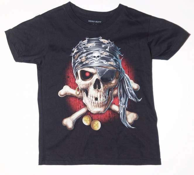 Dětské tričko PIRÁT SNCHEZ,přední část