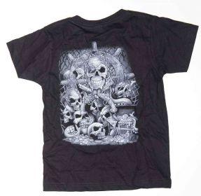 Dětské tričko OKŘÍDLENÝ SMRŤÁK, zadní díl