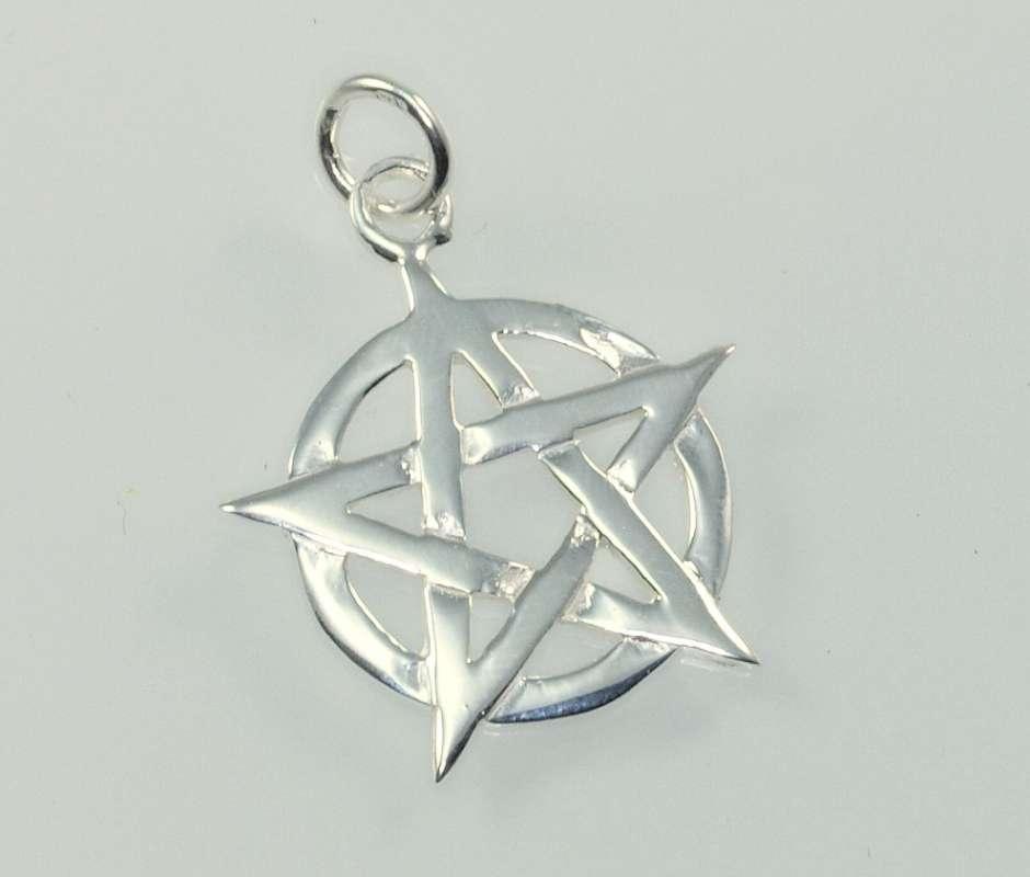 Stříbrný Pentagram