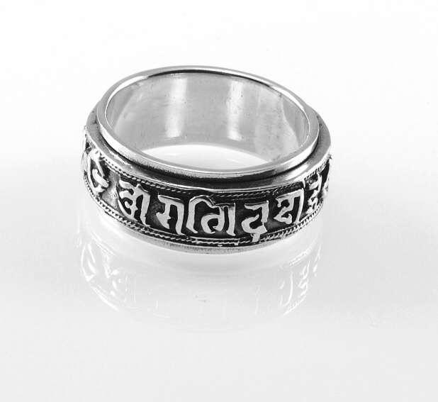 Stříbrný prsten DELETH