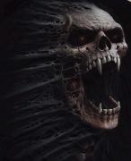 Detail obrázku , přední část Démon