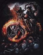 Detail motivu, Chopper motorkář