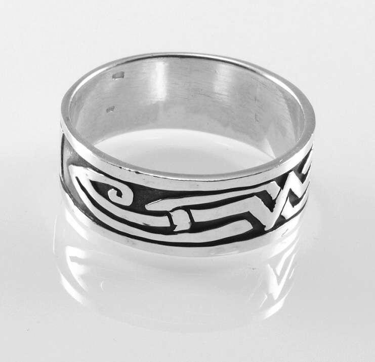 Stříbrný prsten Karannde