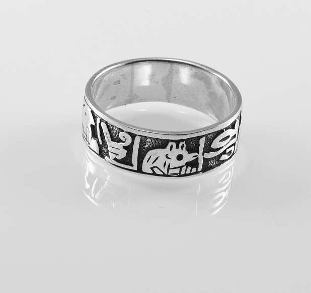 stříbrný prsten Takyone