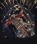 Detail obrázku,Ďábelský kytarista