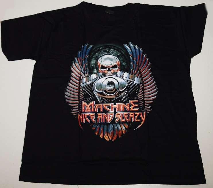 Velké tričko Machine nice...