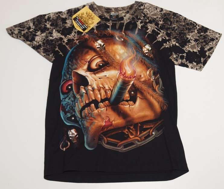 Tričko Lebka s doutníkem