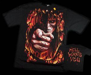 tričko - Ďábel 666