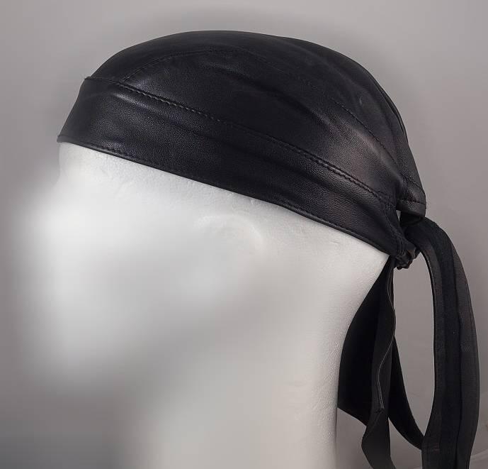 Kožený motorkářský šátek-tvarovaný Dodavatel Choppers styl