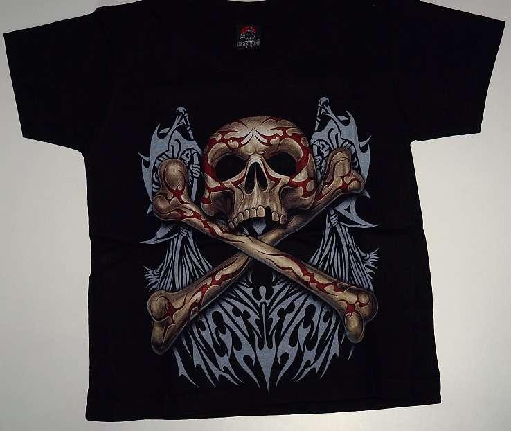 Dětské tričko Pirátska lebka