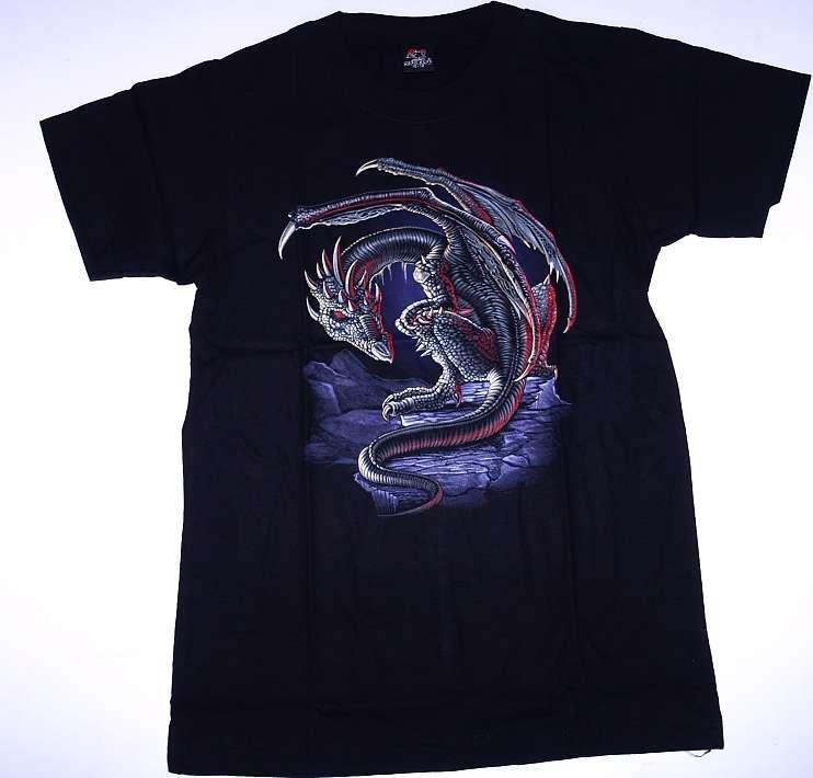 Dětské tričko s drakem.DTRIK5901