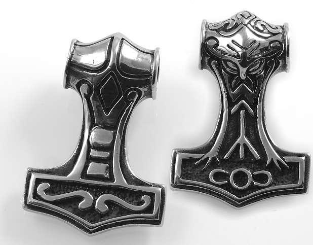Ocelový přívěsek Thorovo kladovo 4.