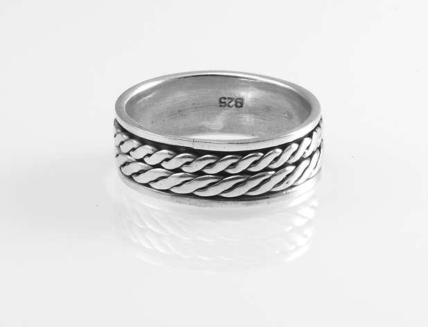Stříbrný prsten Danté