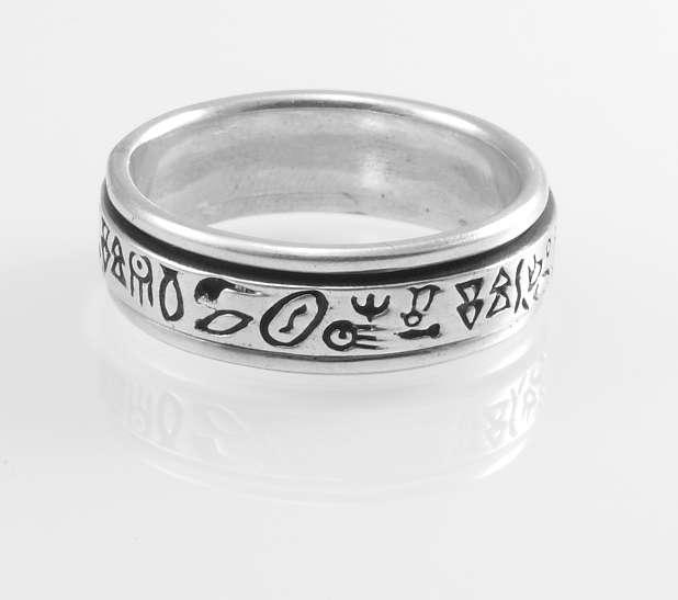 Stříbrný prsten Gariado