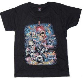 Dětské tričko -  POKLAD PIRÁTA