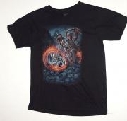 Dětské tričko -ĎÁBELSKÝ MOTORKÁŘ