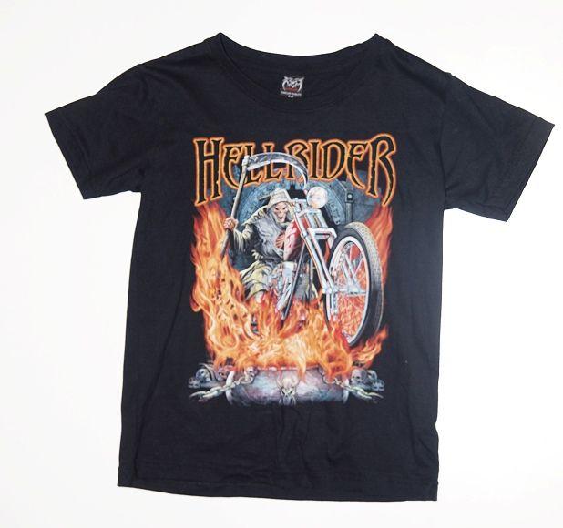 Dětské tričko Hell rider
