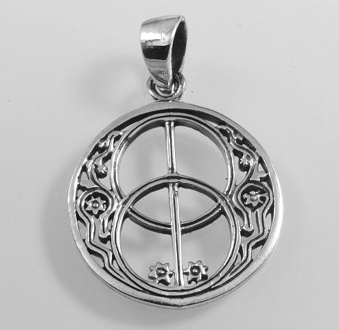 Stříbrný přívěsek Znak Avalonu