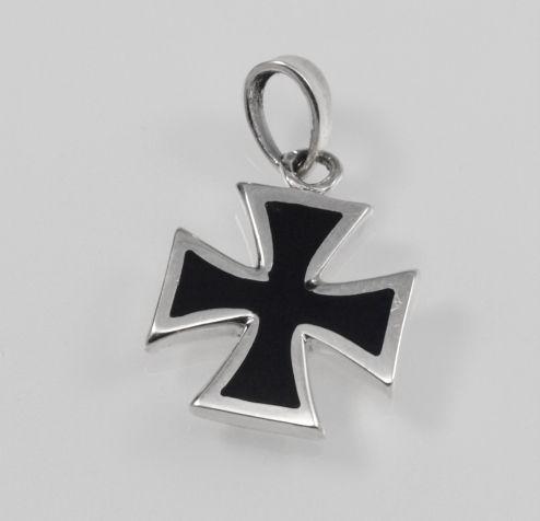 Střííbrný přívěsek Válečný kříž