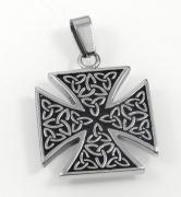 Přívěsek Maltézský kříž Kelt