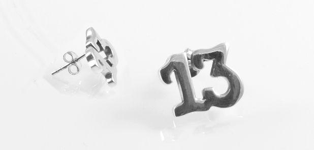 Stříbrná náušnic AGNAU610043