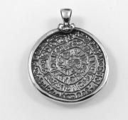 Stříbrný přívěsek Sumerská mince1